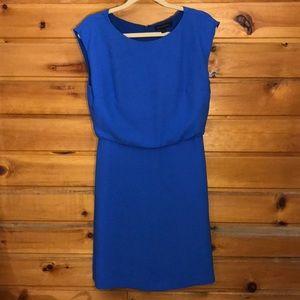 Banana Republic Blue Midi Dress